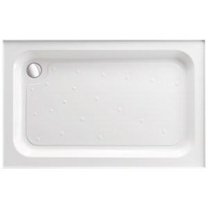 Just Trays Merlin 1200x700mm Rectangular Shower Tray 4 Upstands
