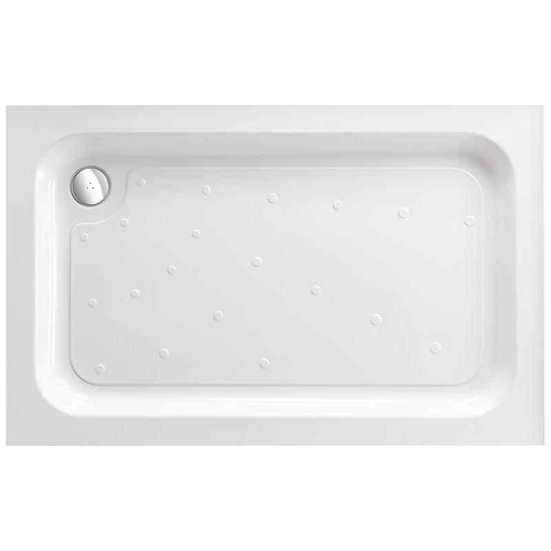 Just Trays Merlin 1200x900mm Rectangular Shower Tray 4 Upstands