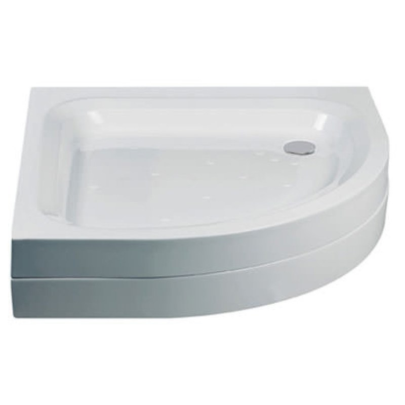 Just Trays Merlin 800mm Quadrant Shower Tray