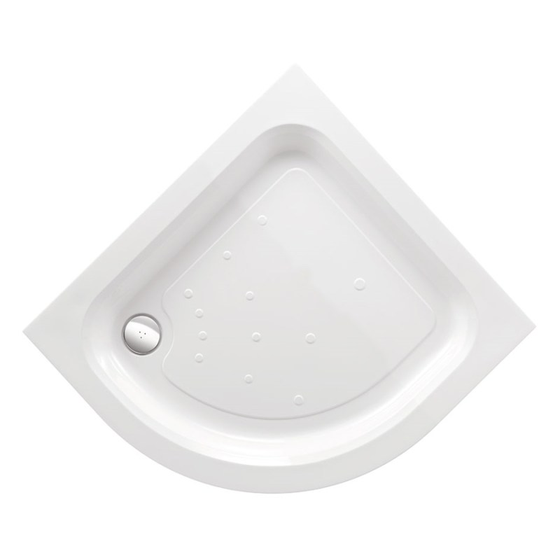 Just Trays Merlin 800mm Quadrant Shower Tray Anti-Slip