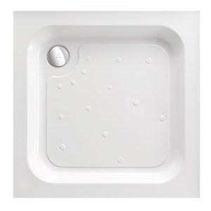 Just Trays Merlin 900mm Square Shower Tray Anti-Slip