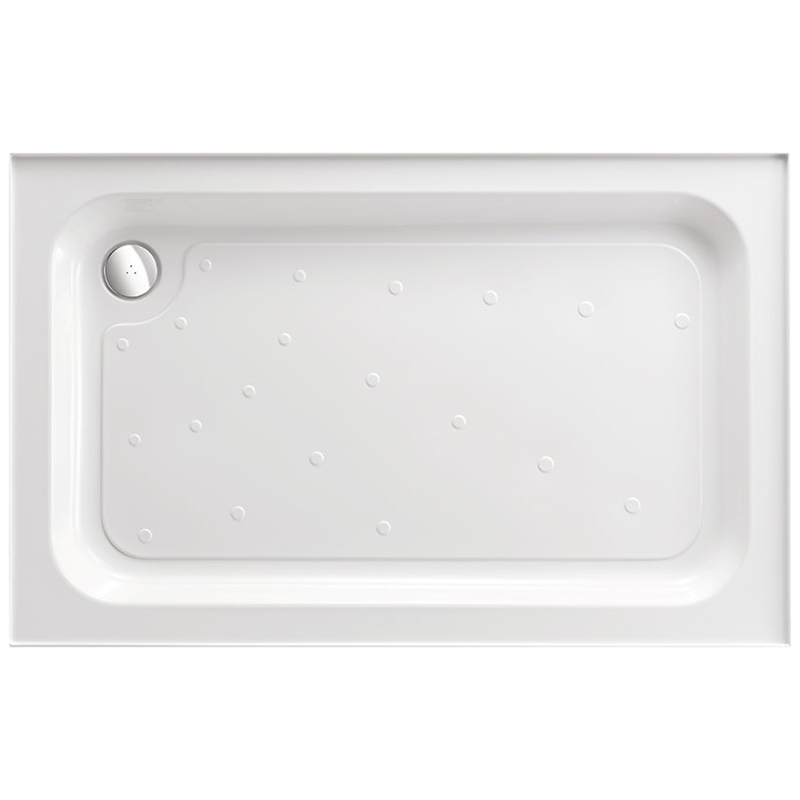 Just Trays Ultracast 900x700mm Shower Tray 4 Upstands Anti-Slip