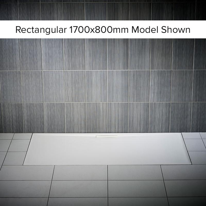 Just Trays Evolved Anti-Slip 900mm Quadrant Shower Tray
