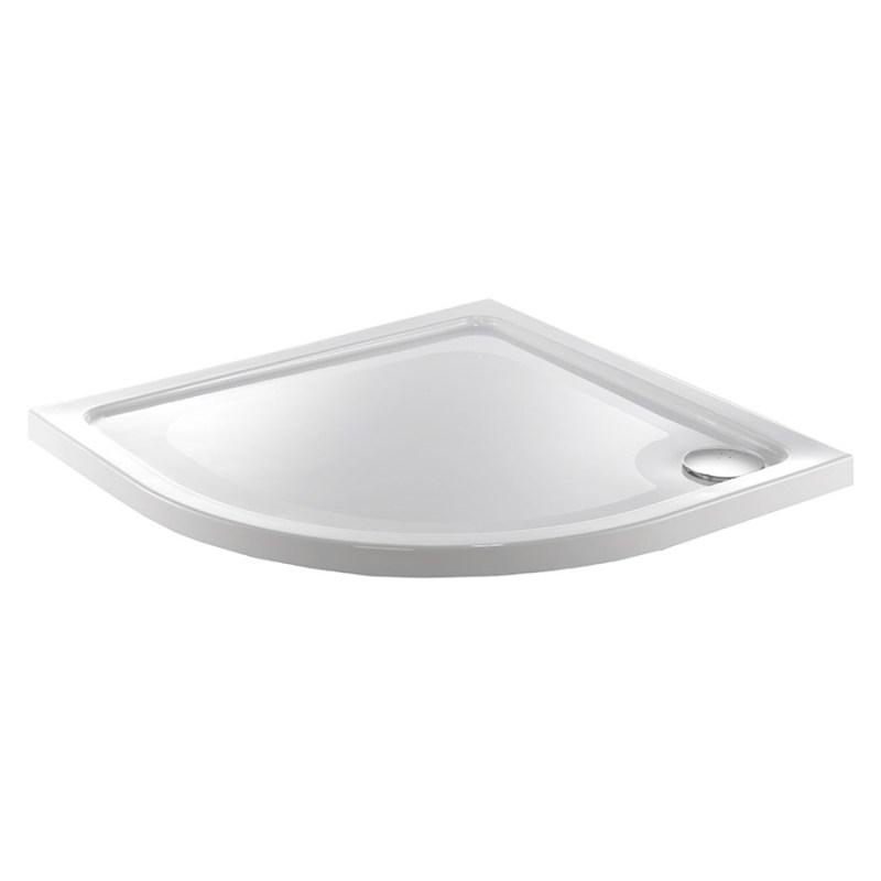 Just Trays Fusion 800mm Quadrant Shower Tray Anti-Slip