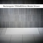 Just Trays Evolved 1000x800mm Rectangular Shower Tray