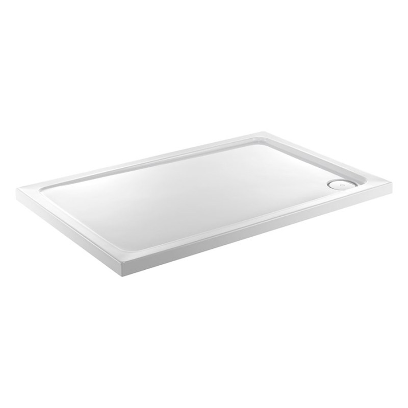 Just Trays Fusion 1100x760mm Rectangular Shower Tray