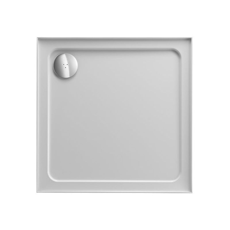 Just Trays Fusion 900mm Square Shower Tray 4 Upstands