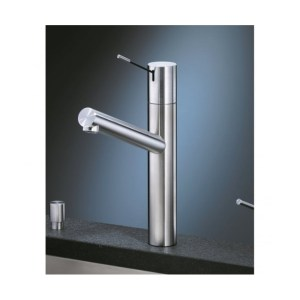 KWC Ono Sink Mixer with Swivel Spout Stainless Steel