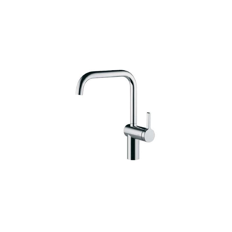 KWC Livello Mono Sink Mixer with Swivel Spout Chrome