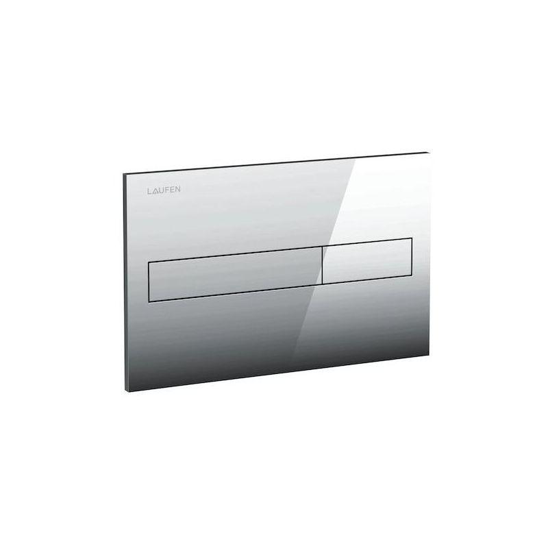 Laufen Duplo/Basin Dual Flush Plate Chrome