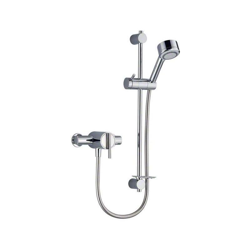 Mira Silver EV Mixer Shower
