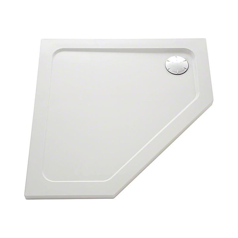Mira Flight Safe Pentagon 900x900 0 Upstands Shower Tray