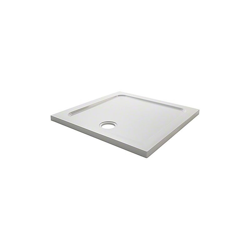 Mira Flight Low Square 900x900 4 Upstands Shower Tray
