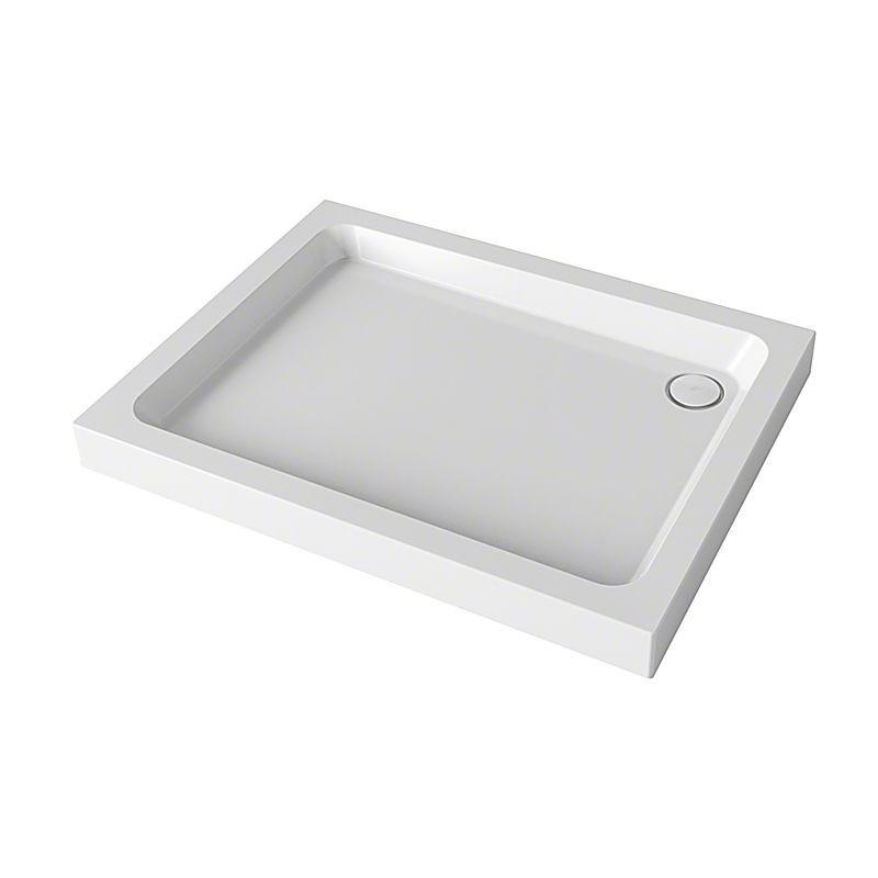 Mira Flight Square 900x900 4 Upstands Shower Tray