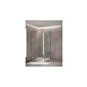 Mira Leap Pivot Door 800mm Silver