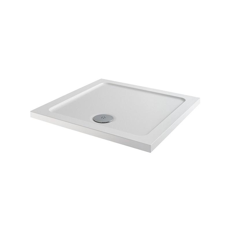 MX Elements 760 x 760mm Square Anti-Slip Shower Tray