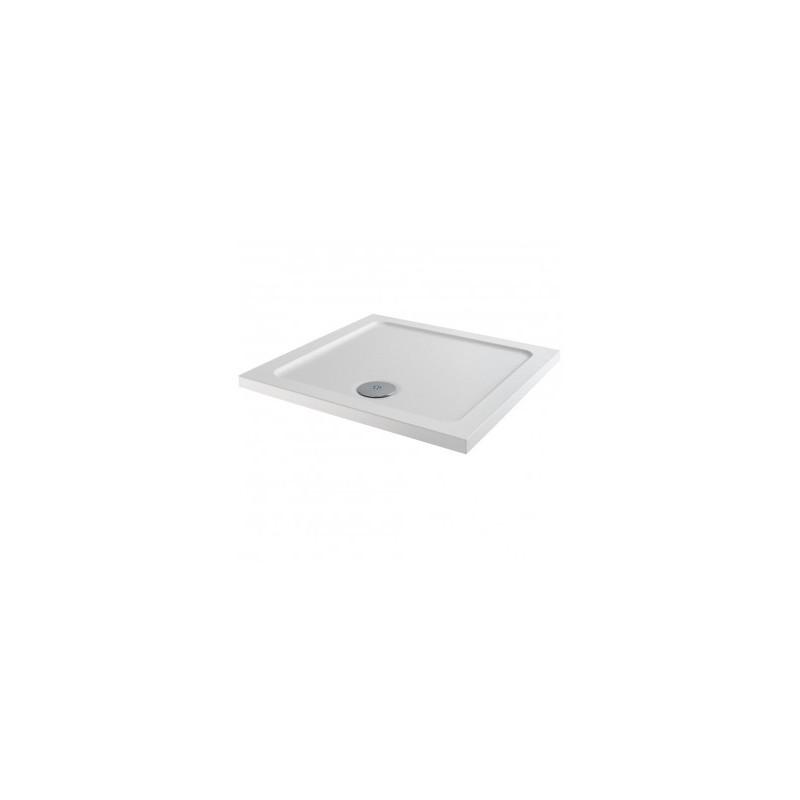 MX Elements 1000 x 1000mm Square Anti-Slip Shower Tray