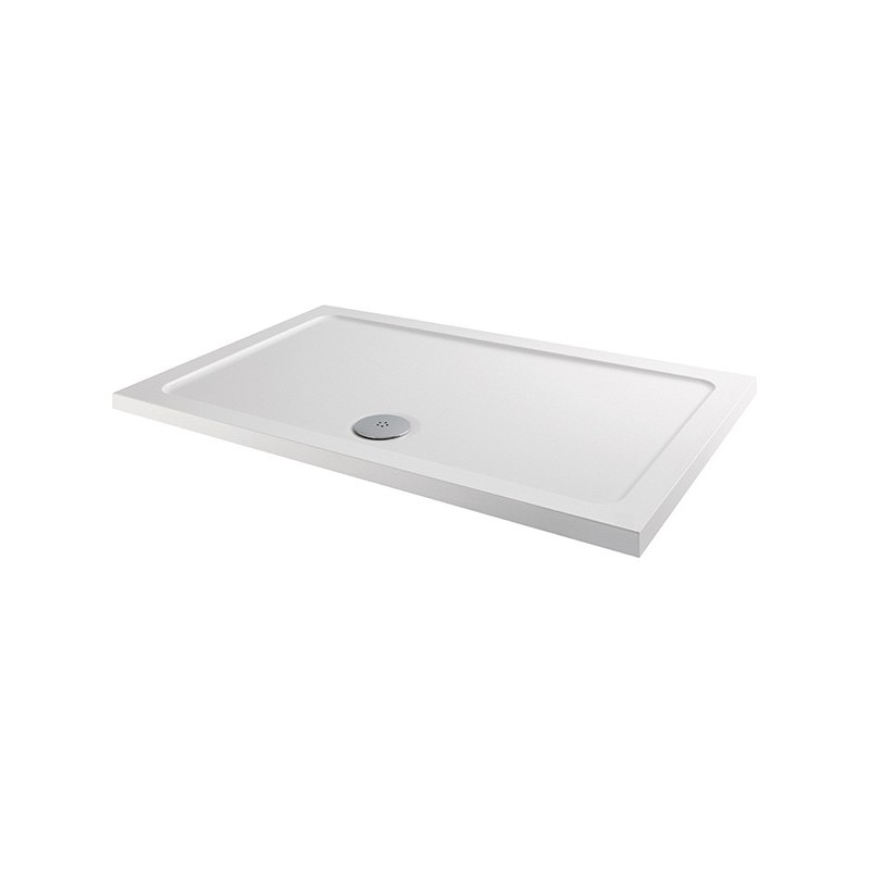 MX Elements 900 x 800mm Rectangular Anti-Slip Shower Tray