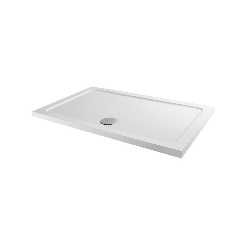 MX Elements 1000 x 700mm Rectangular Anti-Slip Shower Tray
