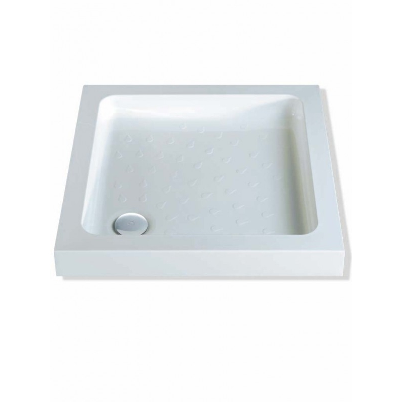 MX Classic 800 x 800mm ABS Shower Tray & 50mm Waste