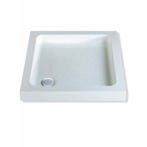 MX Classic 900 x 900mm Shower Tray & 50mm Waste
