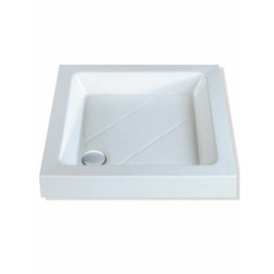 MX Classic 1000 x 1000mm Shower Tray & 50mm Waste