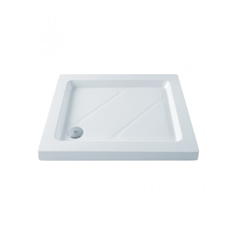 MX Classic 900 x 700mm Shower Tray & 50mm Waste