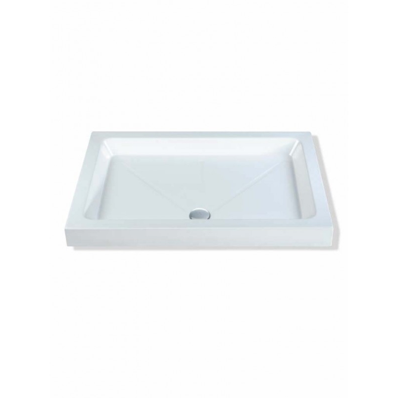 MX Classic 1400 x 900mm Shower Tray & 50mm Waste