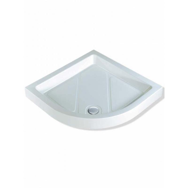 MX Classic 1000mm Quadrant Shower Tray & 50mm Waste