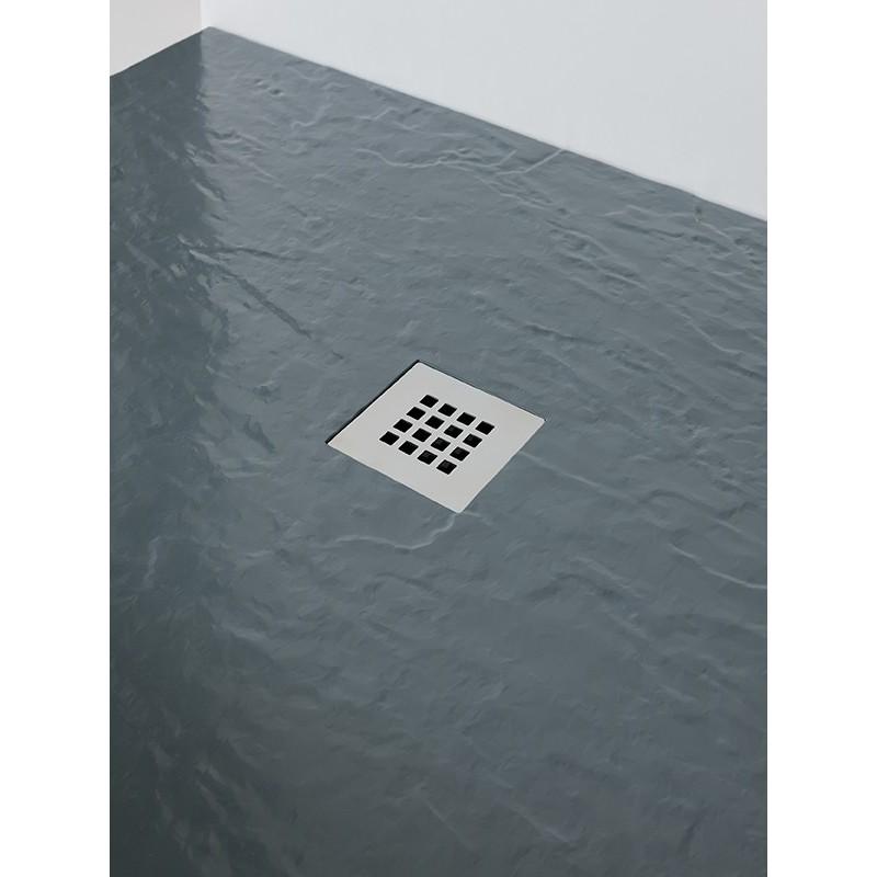 MX Minerals 1600 x 900mm Rectangular Shower Tray Ash Grey
