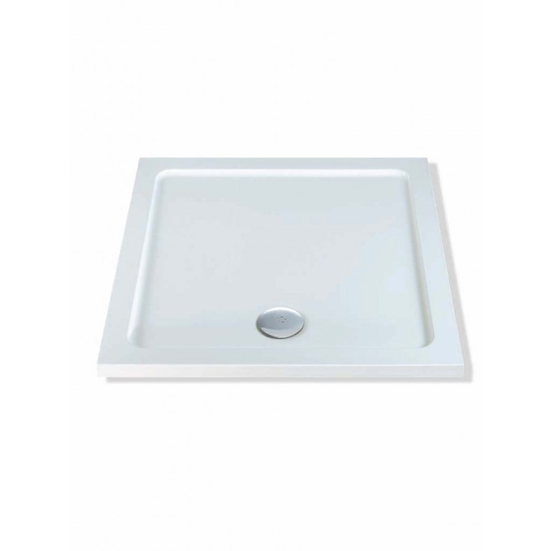 MX DucoStone Low Profile 760 x 760mm Shower Tray & 90mm Waste