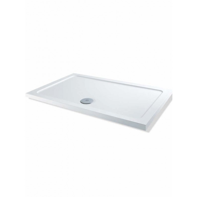 MX DucoStone Low Profile 1100 x 800mm Shower Tray & 90mm Waste