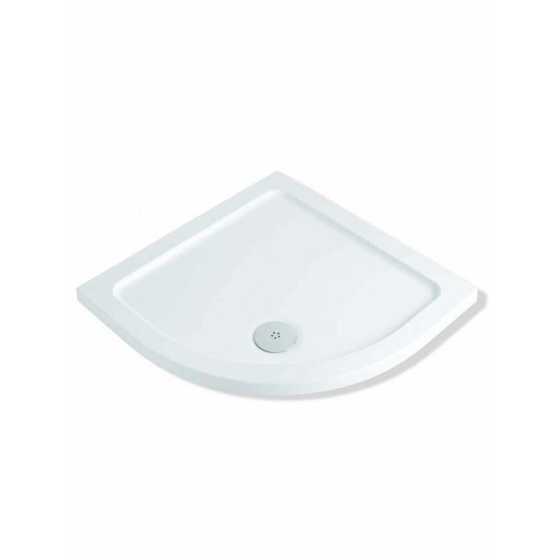 MX DucoStone 45 1000x1000mm Quadrant Shower Tray & 90mm Waste