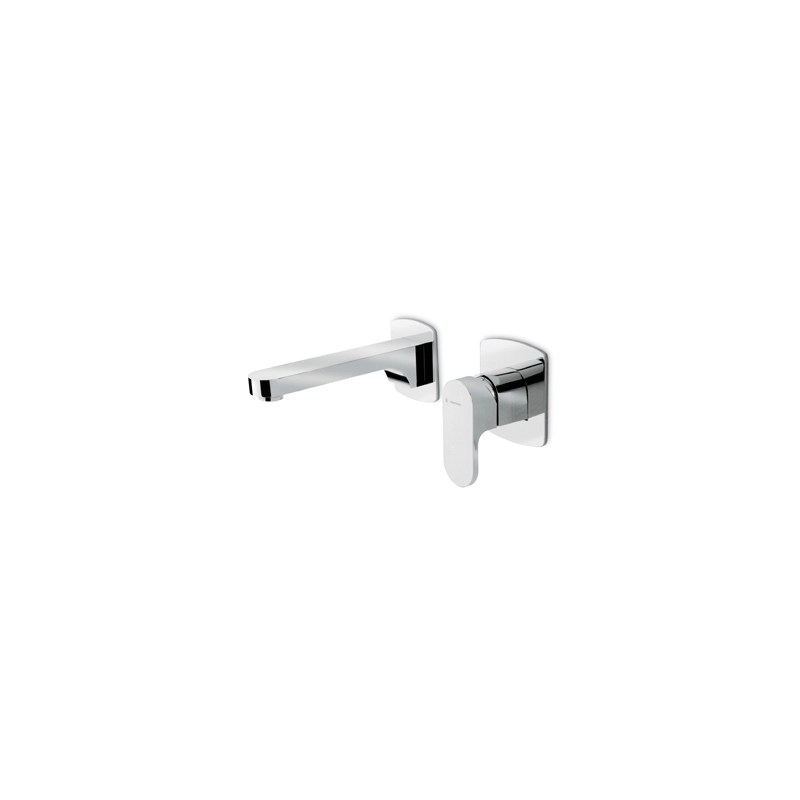 Newform X-Light Wall Basin Mixer without Waste Chrome