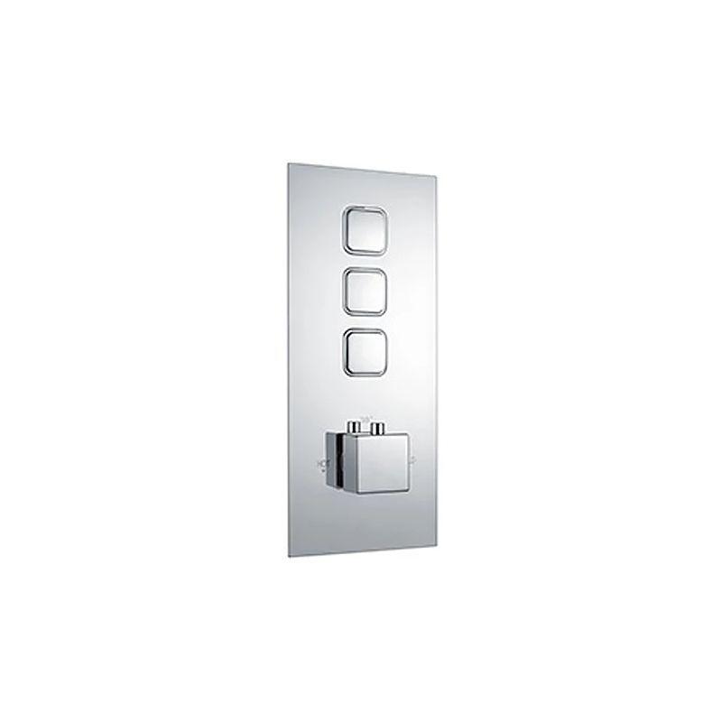 Niagara Observa Triple Push Concealed Shower Valve