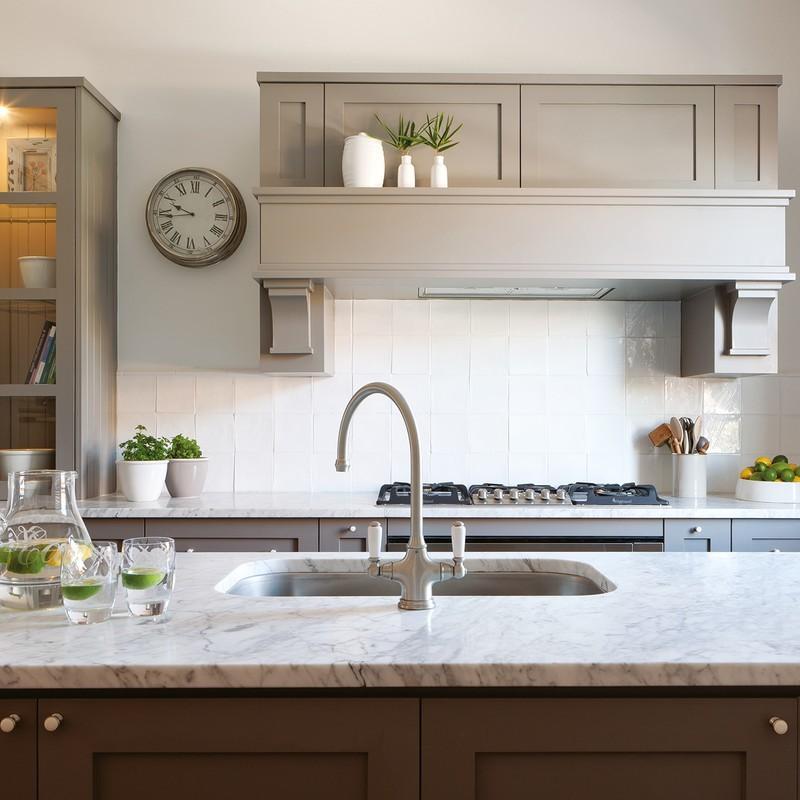 Perrin & Rowe Phoenician Sink Mixer with Lever Handles Nickel