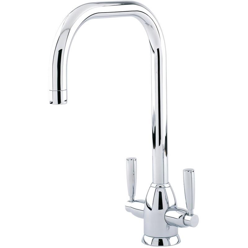 Perrin & Rowe Oberon Sink Mixer with U Spout Nickel
