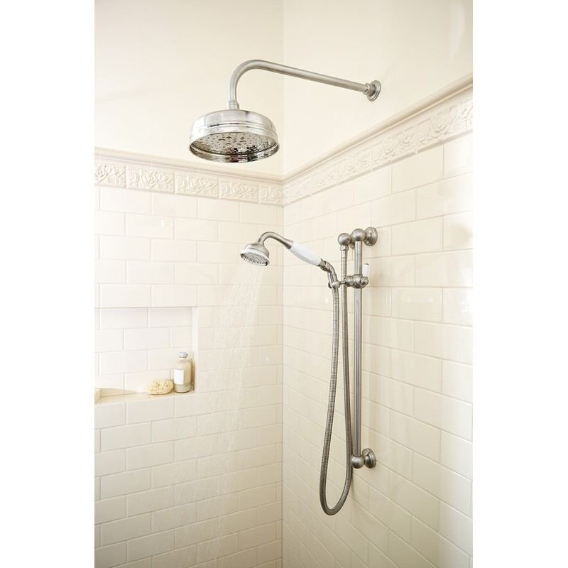 Perrin & Rowe Overhead Shower Arm 380mm Gold