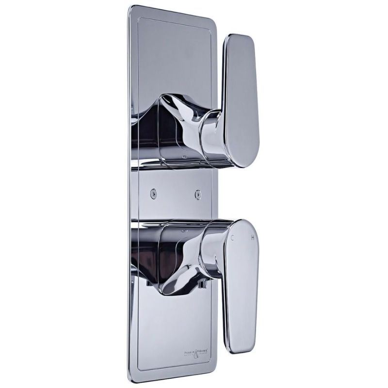 Perrin & Rowe Hoxton Concealed Shower with Diverter Pewter