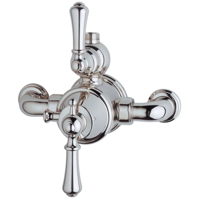 Perrin & Rowe Georgian Exposed Thermostatic Shower, Lever