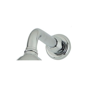Perrin & Rowe Contemporary Overhead Shower Arm 185mm Pewter