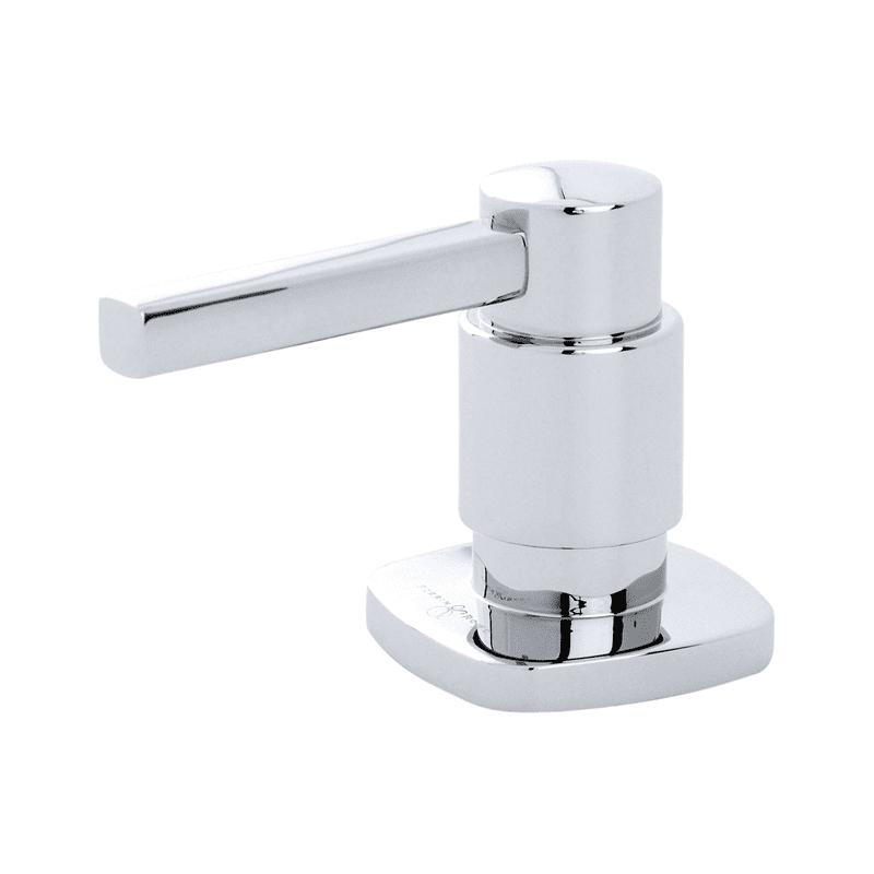 Perrin & Rowe Rubiq Deck Mounted Soap Dispenser Chrome