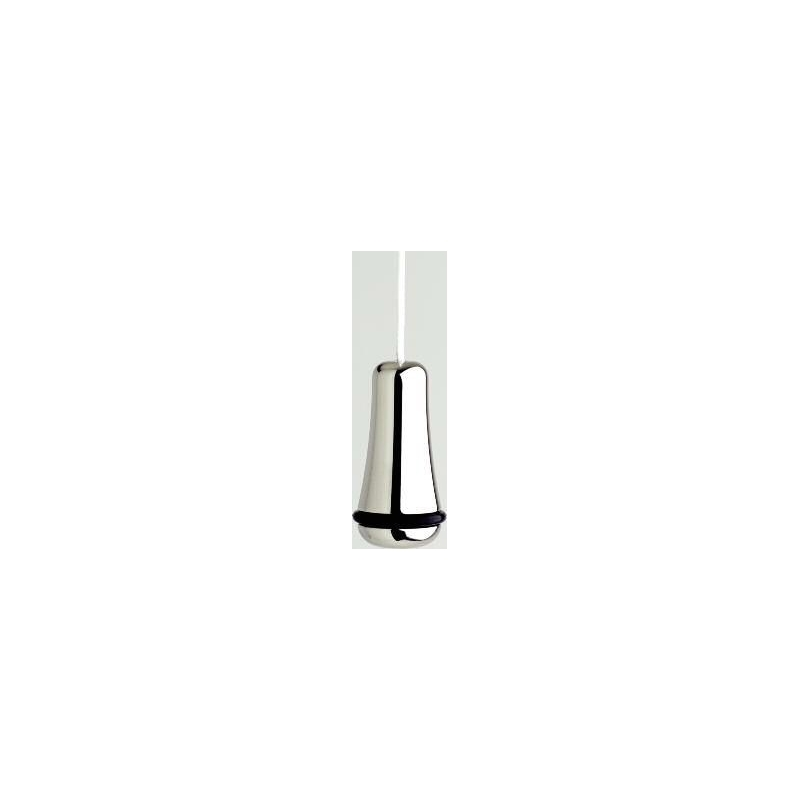 Perrin & Rowe Traditional Light Pull, 40mm Height, Pewter