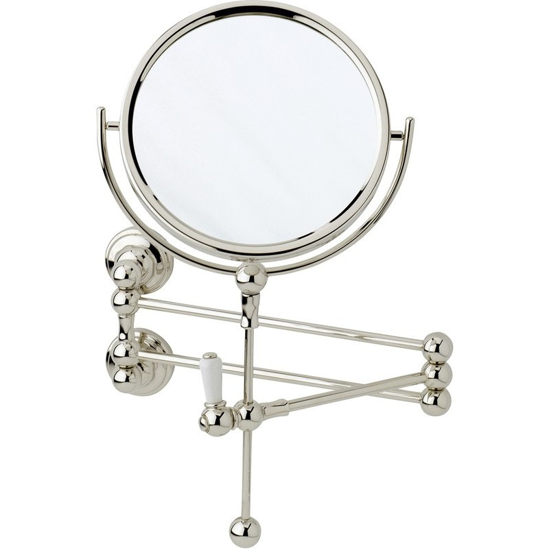 Perrin & Rowe Wall Mounted Shaving Mirror Gold