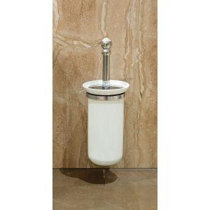 Perrin & Rowe Wall Toilet Brush Holder Nickel