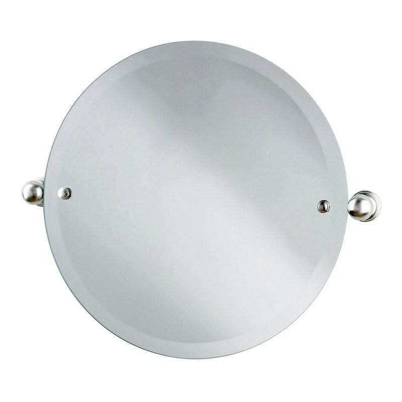 Perrin & Rowe Circular Mirror 500mm Nickel