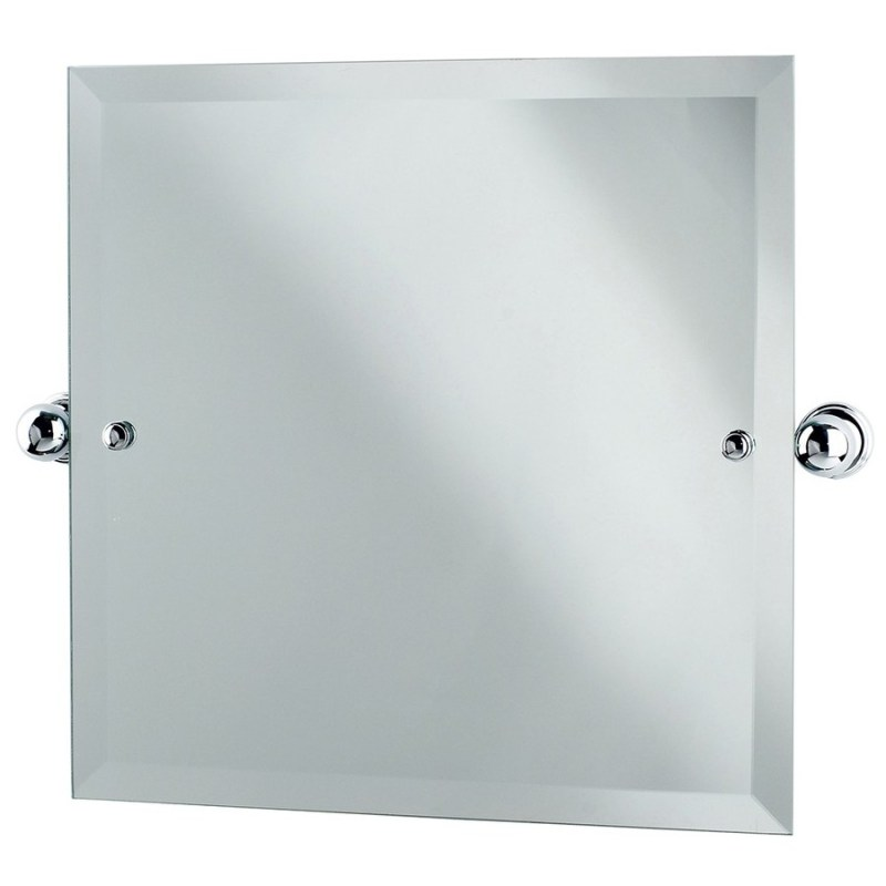 Perrin & Rowe Square Mirror 500mm x 500mm Gold