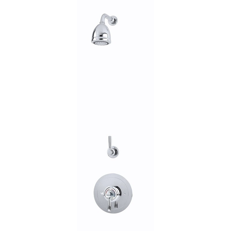 Perrin & Rowe Contemporary Shower Set C Two Chrome