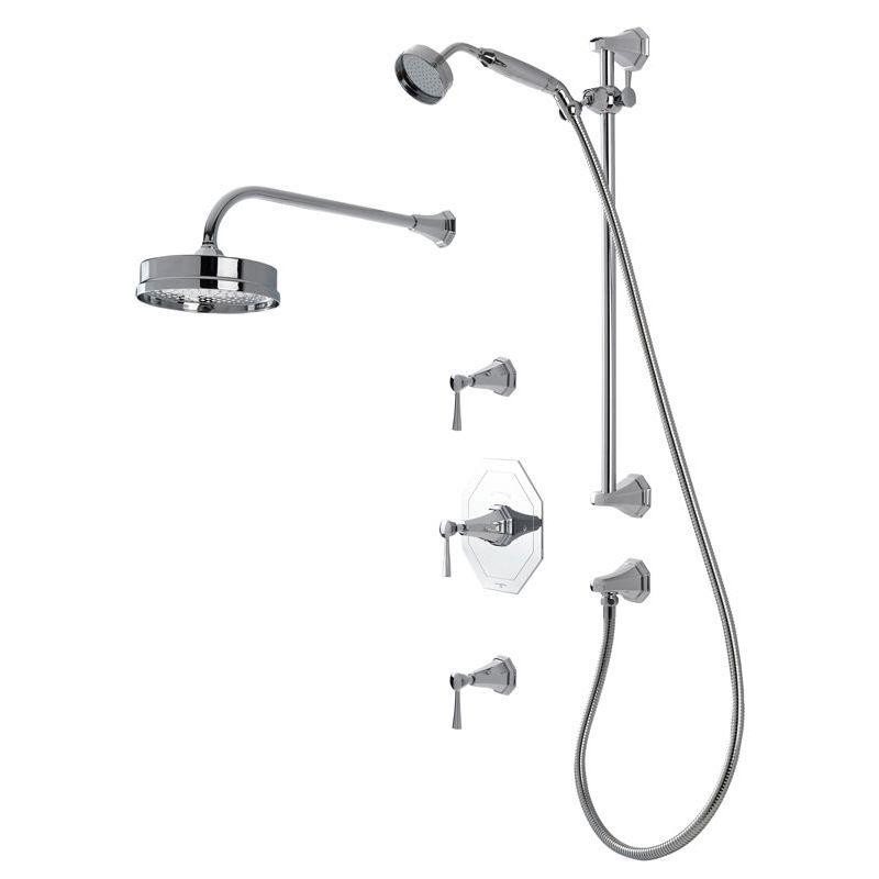 Perrin & Rowe Deco Shower Set 2