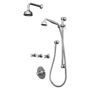 Perrin & Rowe Georgian Shower Set 1